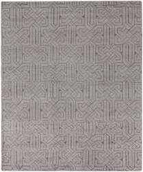Exquisite Rugs Prague Hand Knotted Silver Area Rug