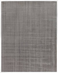 Exquisite Rugs Robin Embossed Hand Woven Light Gray Area Rug