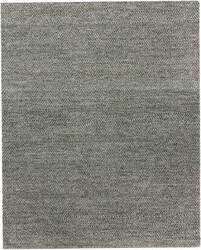 Exquisite Rugs Woven Earth Hand Woven Black Area Rug