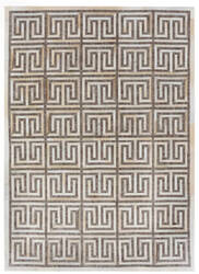 Exquisite Rugs Berlin Hair on Hide Beige - Ivory Area Rug