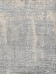 Exquisite Rugs Koda Hand Woven Marine - Silver Area Rug