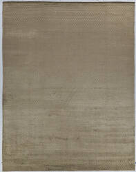 Exquisite Rugs Herringbone Hand Woven Dark Khaki Area Rug