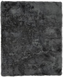 Exquisite Rugs Royal Sheepskin Shag Dark Gray Area Rug