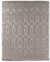 Exquisite Rugs Moreno Hand Knotted Light Silver Area Rug