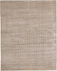 Exquisite Rugs Smooch Carved Hand Woven Beige Area Rug
