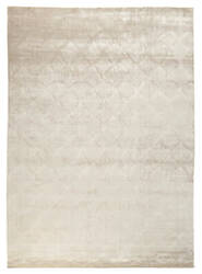 Exquisite Rugs Smooch Geo Hand Woven Ivory Area Rug