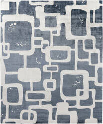 Exquisite Rugs Koda Hand Woven Denim - Ivory Area Rug