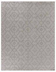 Exquisite Rugs Samara Hand Woven Silver Area Rug