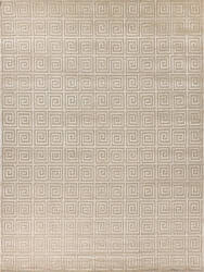 Exquisite Rugs Greco Hand Knotted 9454 Beige Area Rug