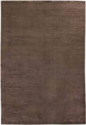 Exquisite Rugs Courduroy Hand Woven Brown Area Rug