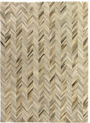 Exquisite Rugs Natural Hair on Hide Ivory - Brown Area Rug