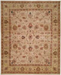 Kalaty Bashir Ba-585 Ivory/Light Gold Area Rug