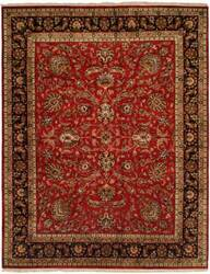 Kalaty Kabir Kb-369 Red/Black Area Rug