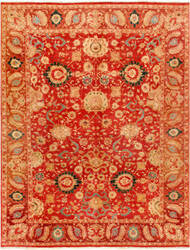 Famous Maker Agra 21905 Rust Area Rug