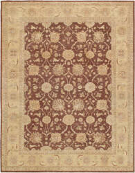Famous Maker Ferehan 38965 Brown - Ivory Area Rug
