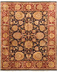 Famous Maker Mogul Art 26870 Black - Red Area Rug