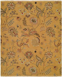 Famous Maker Cassia 100821 Yellow Area Rug