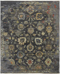 Famous Maker Caprese 100931 Vintage Charcoal - Multi Area Rug