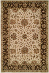 Kalaty Empire EM-292 Ivory/Brown Area Rug