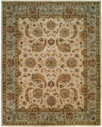 Kalaty Empire EM-294 Ivory / Light Blue Area Rug