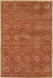 Famous Maker Miran 100489 Rust Area Rug