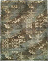 Famous Maker Madson 100370 Sky/Brown Area Rug