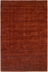 Famous Maker Niran 100932 Red Area Rug
