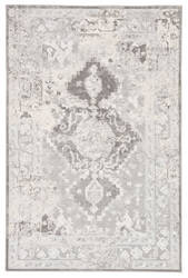 Famous Maker Natasha Shreve Nsh-1020 White - Gray Area Rug