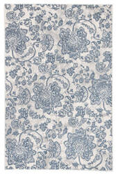 Famous Maker Natasha Oberlin Nsh-1030 Blue - Light Gray Area Rug