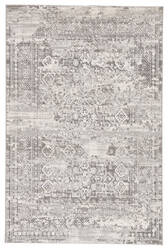 Famous Maker Natasha Deville Nsh-1040 Gray - White Area Rug