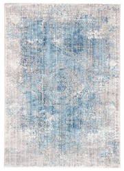 Famous Maker Ostia Kaus Ost-1090 Blue - Light Gray Area Rug