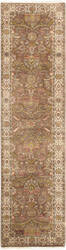 Famous Maker Tabriz P-701 Brown - Ivory Area Rug