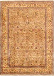 Famous Maker Tabriz P-701 Camel Area Rug