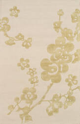 Famous Maker Modern Pbw-767iv Ivory - Light Gold Area Rug