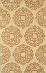 Famous Maker Transitional Pbw-784 Gold Area Rug