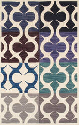 Famous Maker Transitional Pbw-786 Multi Area Rug