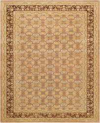 Famous Maker Ferehan Pkb-1357 Light Brown - Brown Area Rug