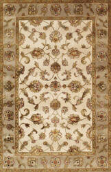 Famous Maker Agra Pps-1 Ivory - Camel Area Rug