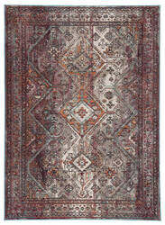 Famous Maker Pedrine Jasper Prd-1030 Purple - Orange Area Rug