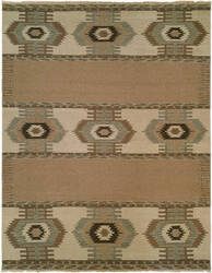 Famous Maker Soumak 371 Tan Area Rug
