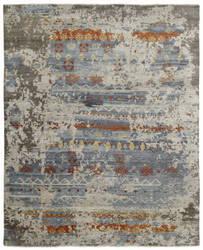 Famous Maker Taonga 100330 Earth Tones - Clay Area Rug