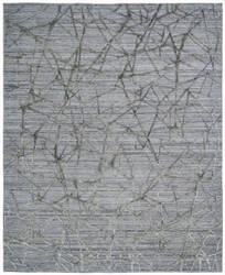Famous Maker Titanium 100592 Grey Ice Area Rug