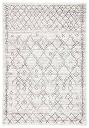 Famous Maker Valarie Apana Val-1040 White - Light Gray Area Rug