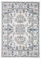 Famous Maker Valarie Freyr Val-1110 White - Light Gray Area Rug