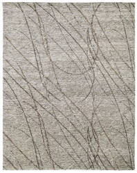 Famous Maker Vista 100605 Grey - Brown Swirl Area Rug