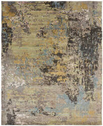 Famous Maker Zara 100519 Light Green Area Rug