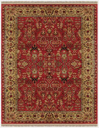 Feizy Amore 8327f Red - Light Gold Area Rug