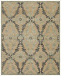 Famous Maker Stephan 44656 Ivory-Silver Area Rug
