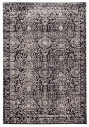 Feizy Prasad 3680f Charcoal - Gray Area Rug