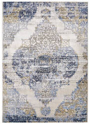 Feizy Marigold 3831f White - Light Blue Area Rug